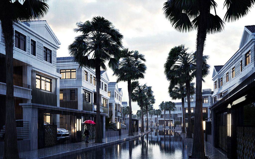 Mua nhà phố đẹp cần môi trường tốt