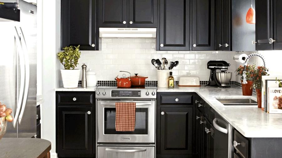 Kiêng kỵ nhà bếp không cho phép phía sau bếp nấu có khoảng không