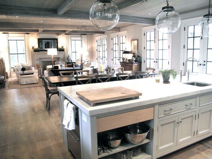Bếp thông tuông phòng khách là phạm kiêng kỵ nhà bếp