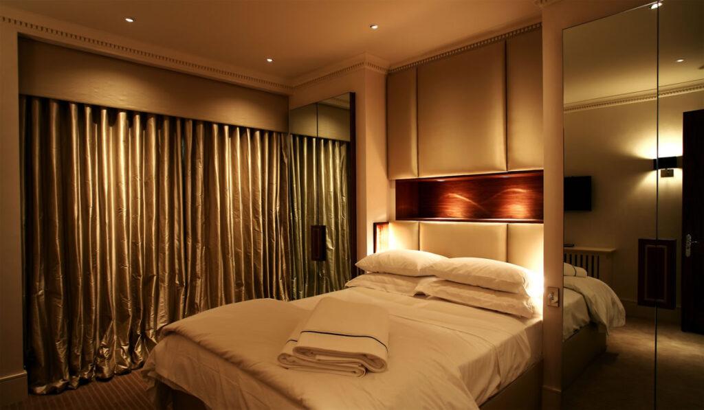 Sử dụng đèn LED trong phòng ngủ