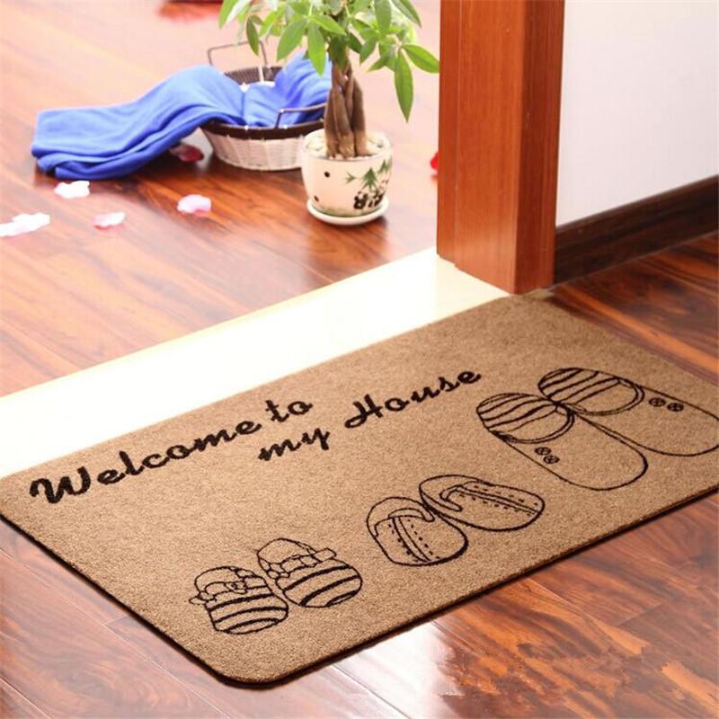 Nên chọn màu thảm phù hợp với hướng cửa