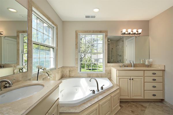 Bài trí nhà vệ sinh chuẩn phong thủy, nên tách rời khu tắm và khu đi vệ sinh (Ảnh minh họa)