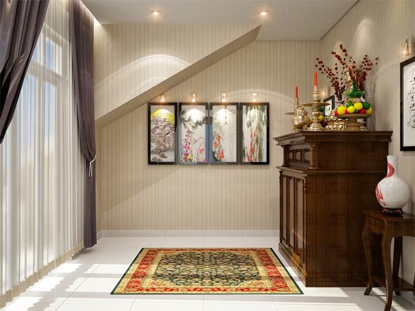 Bàn thờ cần đặt nơi yên tĩnh và ở vị trí cao nhất trong nhà (Ảnh minh họa)