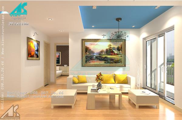 Nhà ở chung cư nhất định phải đầy đủ ánh sáng (Ảnh minh họa: Kientrucvietas)