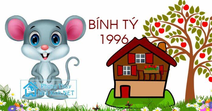 tuoi lam nha nam 2018 tuoi Binh Ty 1996