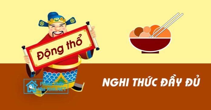Nghi thuc lam le dong tho xay nha day du theo phong tuc nguoi Viet (2)