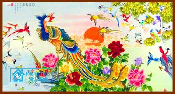 Nhung buc tranh phong thuy dep nhat nen treo trong nha de phuoc loc an vui (1)