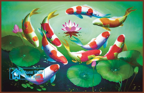 Nhung buc tranh phong thuy dep nhat nen treo trong nha de phuoc loc an vui (3)
