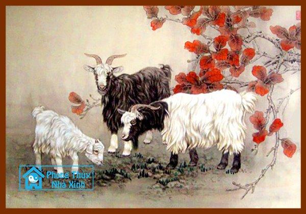 Nhung buc tranh phong thuy dep nhat nen treo trong nha de phuoc loc an vui (5)