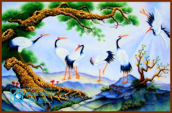 Nhung buc tranh phong thuy dep nhat nen treo trong nha de phuoc loc an vui (6)