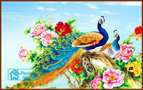Nhung buc tranh phong thuy dep nhat nen treo trong nha de phuoc loc an vui (7)